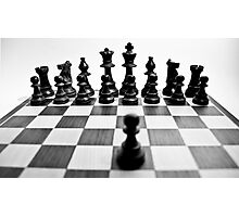 A Pawn Against a Kingdom  Photographic Print