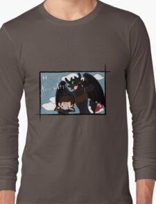 HICCUP & TOOTHLESS Long Sleeve T-Shirt