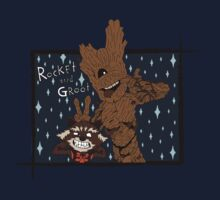 ROCKET & GROOT by leidemera