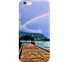 Hanalei Bay Pier iPhone Case/Skin
