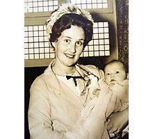 My Mum.... Photographic Print