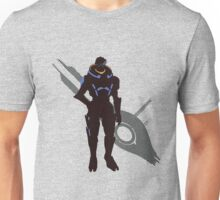 Garrus Vakarian - Sunset Shores Unisex T-Shirt