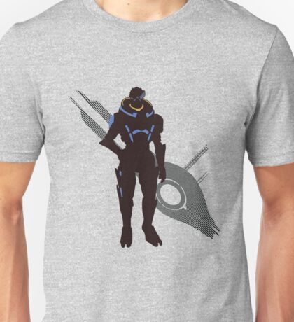 Garrus Vakarian - Sunset Shores Unisex T-Shirt