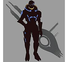 Garrus Vakarian - Sunset Shores Photographic Print