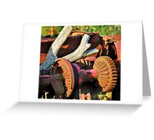 Rusting Greeting Card