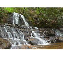 Laurel Falls, Great Smoky Mountains Photographic Print