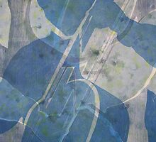 Musica: Blue Cellist by Marion Chapman