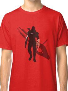 Commander Shepard (Male) - Sunset Shores Classic T-Shirt