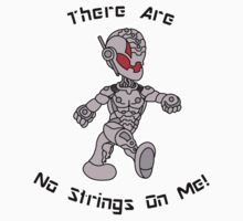 THERE ARE NO STRINGS ON ME! (RED ULTRON) Kids Clothes