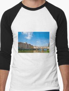Ponte Vecchio  Men's Baseball ¾ T-Shirt