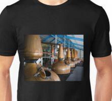 Whisky distillery stills Unisex T-Shirt