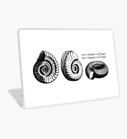 Math Spiral Shells Laptop Skin