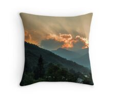 Pyrenees Sunset Throw Pillow