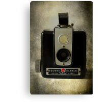 Brownie Hawkeye Canvas Print