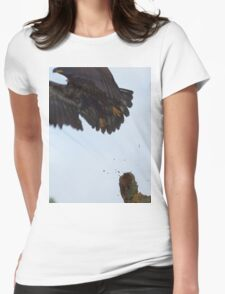 Eagle Lift Off Womens Fitted T-Shirt