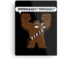 Rrrruugh! Arrggg! (Chewbacca) Metal Print