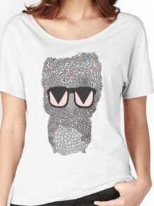 Funky Owl Women's Relaxed Fit T-Shirt