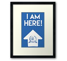 I Am Here Collection - Epcot Framed Print