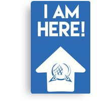 I Am Here Collection - Epcot Canvas Print