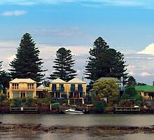 Waterfront living, Port Fairy, Victoria, Australia. by Andy Berry