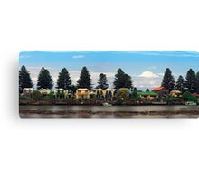 Waterfront living, Port Fairy, Victoria, Australia. Canvas Print