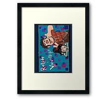 RALPH & VANELLOPE Framed Print