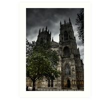 York Minster 2 Art Print