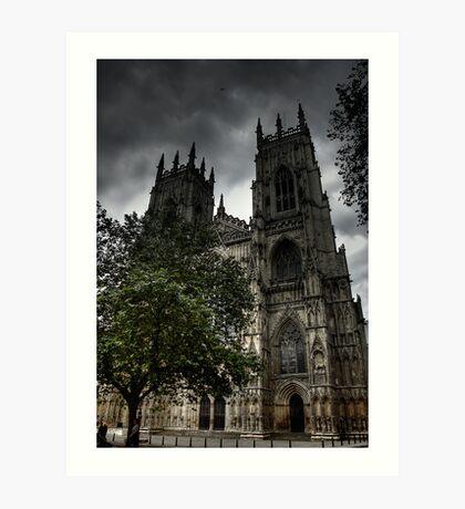 York Minster 2 Art Print