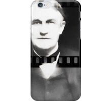 Silent Film 1 Thomas Edison iPhone Case/Skin