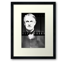 Silent Film 1 Thomas Edison Framed Print