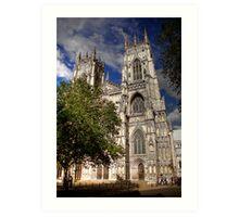 York Minster 3 Art Print