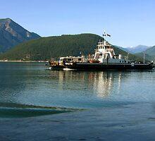 Shelter Bay Ferry by Gregory Ewanowich