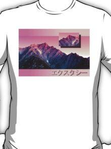 Pink Mountains T-Shirt