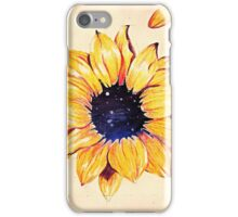 Sunflower depth iPhone Case/Skin
