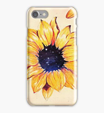 Sunflower depth iPhone Case/Skin