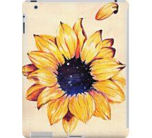 Sunflower depth iPad Case/Skin
