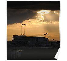 epsom racecourse Poster