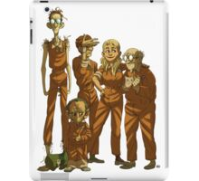 Arkham Nerd Squad (transparent) iPad Case/Skin