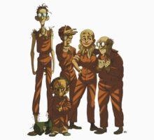 Arkham Nerd Squad (transparent) Kids Tee