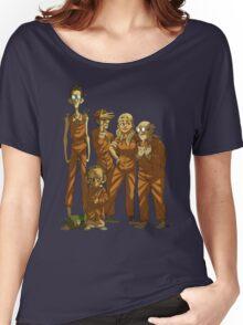 Arkham Nerd Squad (transparent) Women's Relaxed Fit T-Shirt