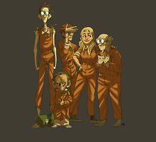 Arkham Nerd Squad (transparent) Unisex T-Shirt