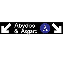 Stargate Subway - Abydos & Asgard Photographic Print