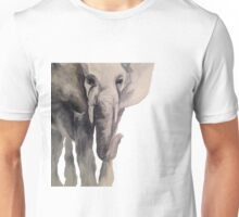 Watercolor Elephant (II) Unisex T-Shirt