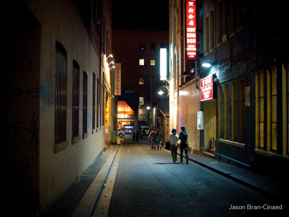 Chinatown Alley by Jason Bran-Cinaed