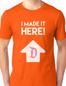 I Am Here Collection - I Made It Here Disneyland (Pink) Unisex T-Shirt