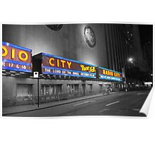 Silent Radio City Poster