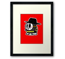 Anonymously Shy Framed Print