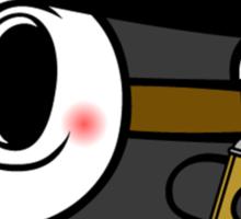 Anonymously Shy Sticker
