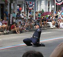 Dancing RI cop by Scott Curti