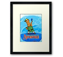 Alpaca Your Bags For Adventure! - background Framed Print